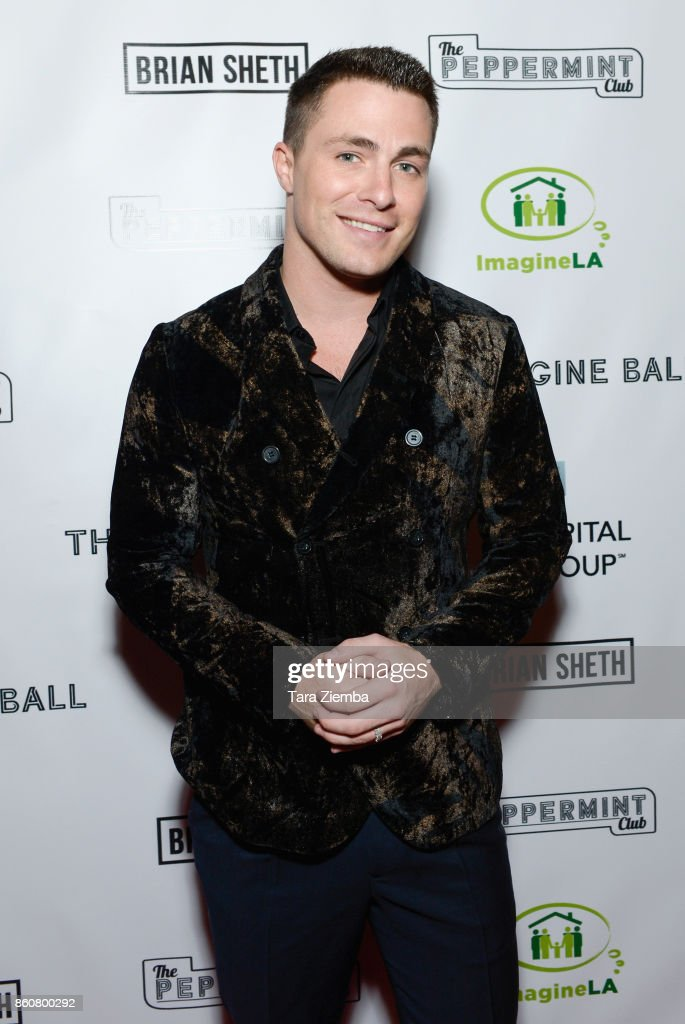 Colton Hayes attends The Imagine Ball at The Peppermint Club on October 12, 2017 in Los Angeles, California.