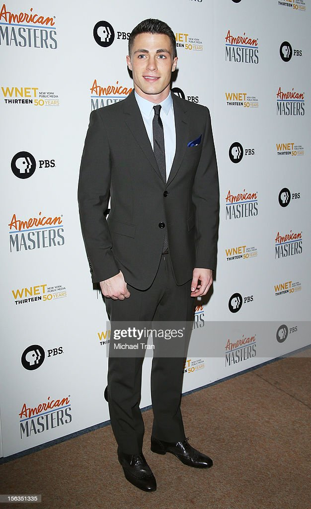 Colton Haynes arrives at the Los Angeles premiere of 'Inventing David Geffen' held at Writer's Guild Theater on November 13, 2012 in Los Angeles, California.