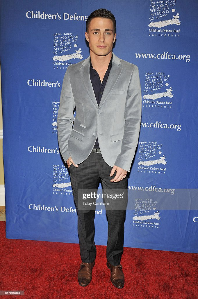 Colton Haynes arrives for the Children's Defense Fund-California 22nd Annual 'Beat the Odds' Awards at Beverly Hills Hotel on December 6, 2012 in Beverly Hills, California.
