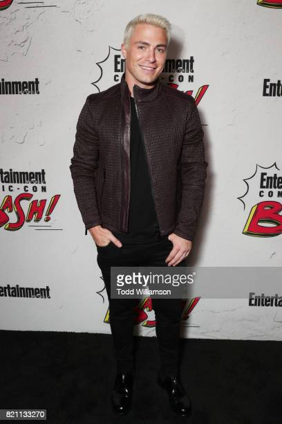Colton Haynes at Entertainment Weekly's annual ComicCon party in celebration of ComicCon 2017 at Float at Hard Rock Hotel San Diego on July 22 2017...