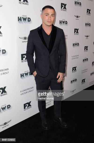 Colton Haynes attends FX Networks celebration of their Emmy nominees in partnership with Vanity Fair at Craft on September 16 2017 in Century City...