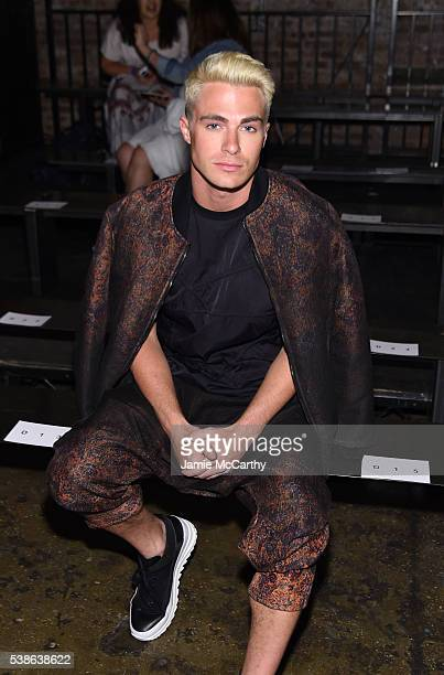Colton Haynes attends Public School's Women's And Men's Spring 2017 Collection Runway Show at Cedar Lake on June 7 2016 in New York City