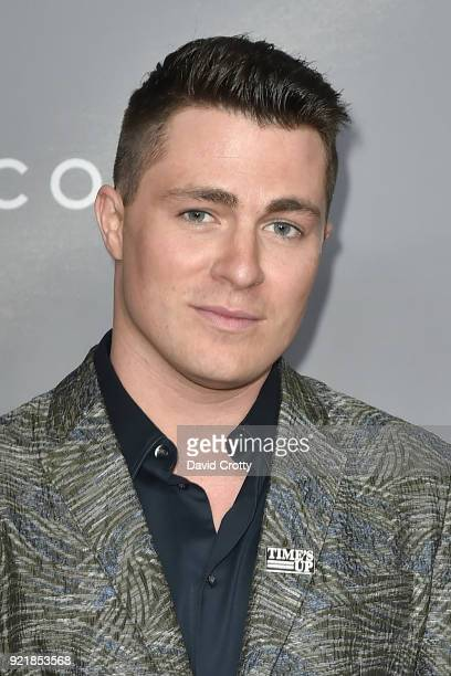Colton Haynes attends the 20th CDGA Arrivals on February 20 2018 in Beverly Hills California