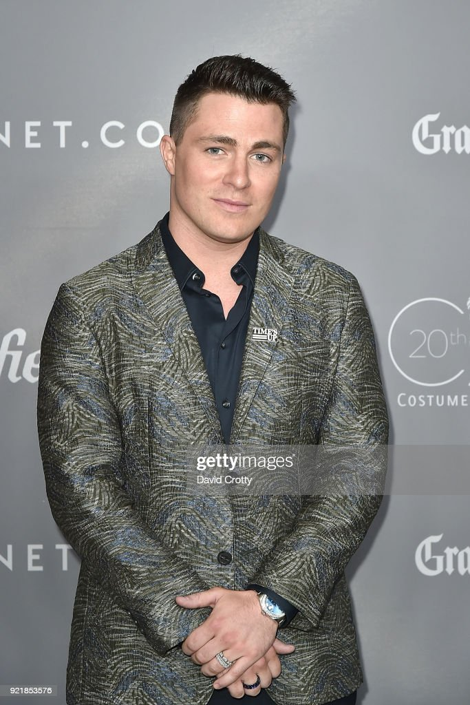 Colton Haynes attends the 20th CDGA (Costume Designers Guild Awards) - Arrivals on February 20, 2018 in Beverly Hills, California.