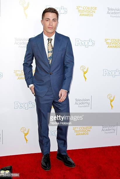 Colton Haynes attends the 37th College Television Awards at Skirball Cultural Center on May 25 2016 in Los Angeles California