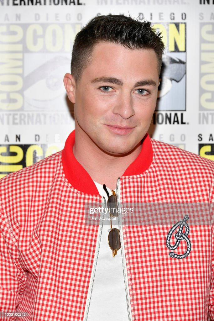 Colton Haynes attends the 'Arrow' Press Line during Comic-Con International 2018 at Hilton Bayfront on July 21, 2018 in San Diego, California.