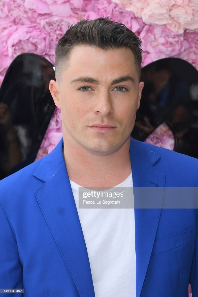 Colton Haynes attends the Dior Homme Menswear Spring/Summer 2019 show as part of Paris Fashion Week on June 23, 2018 in Paris, France.
