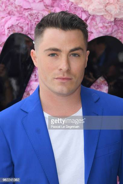Colton Haynes attends the Dior Homme Menswear Spring/Summer 2019 show as part of Paris Fashion Week on June 23 2018 in Paris France