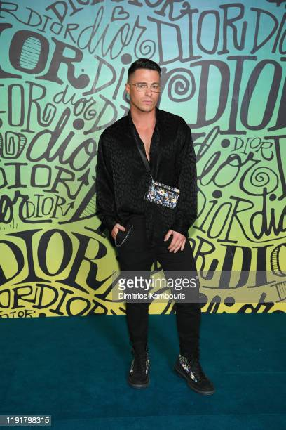 Colton Haynes attends the Dior Men's Fall 2020 Runway Show on December 03 2019 in Miami Florida