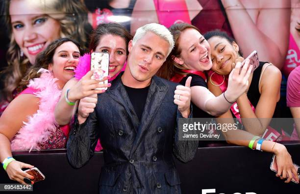 Colton Haynes attends the 'Rough Night' New York Premeire at AMC Lincoln Square Theater on June 12 2017 in New York City