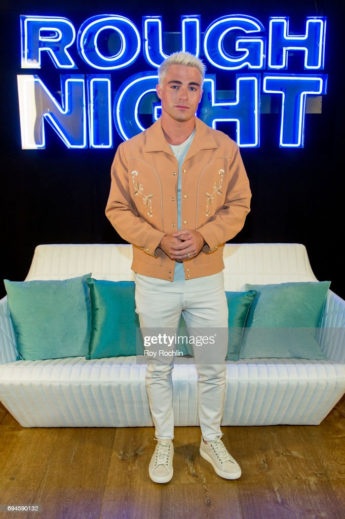 Colton Haynes attends the 'Rough Night' photo call at Crosby Street Hotel on June 10, 2017 in New York City.