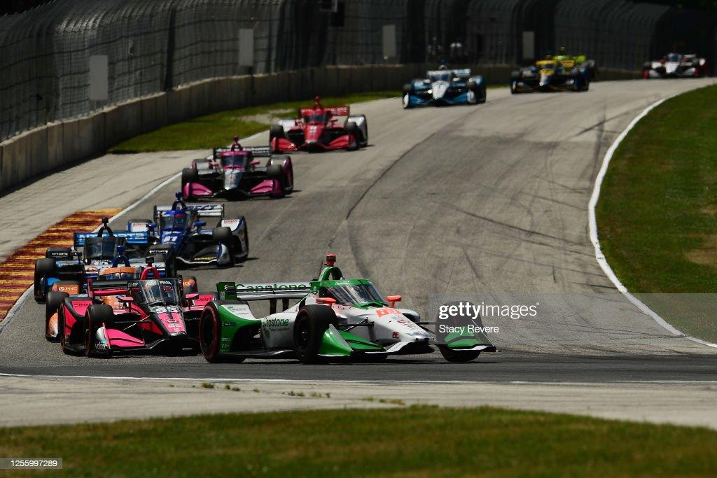 IndyCar Series - Road America : News Photo