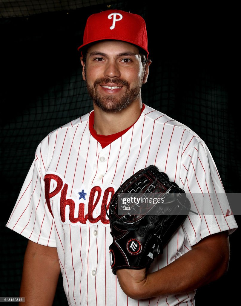 Colton Murray #60 of the Philadelphia Phillies poses for a portrait during the Philadelphia Phillies photo day on February 20, 2017 at Spectrum Field in Clearwater, Florida.