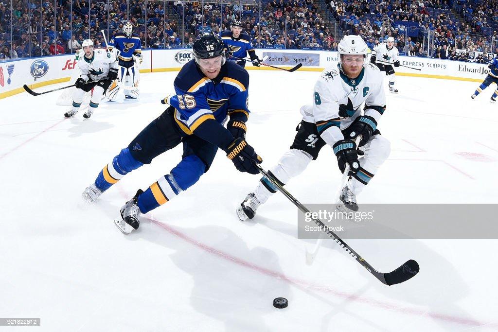 San Jose Sharks v St Louis Blues : News Photo