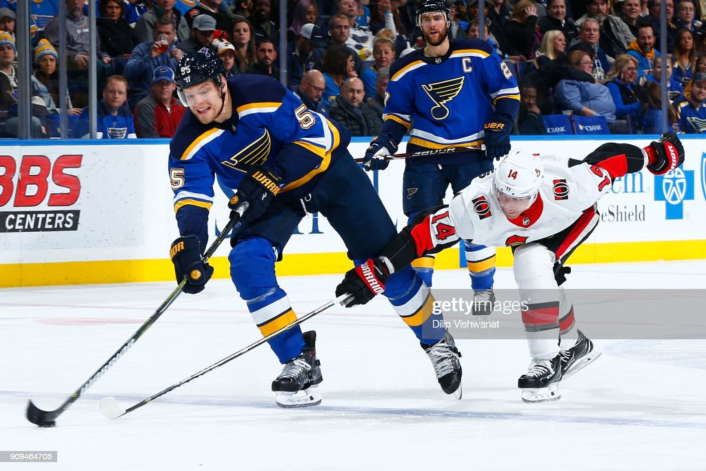 Ottawa Senators v St Louis Blues