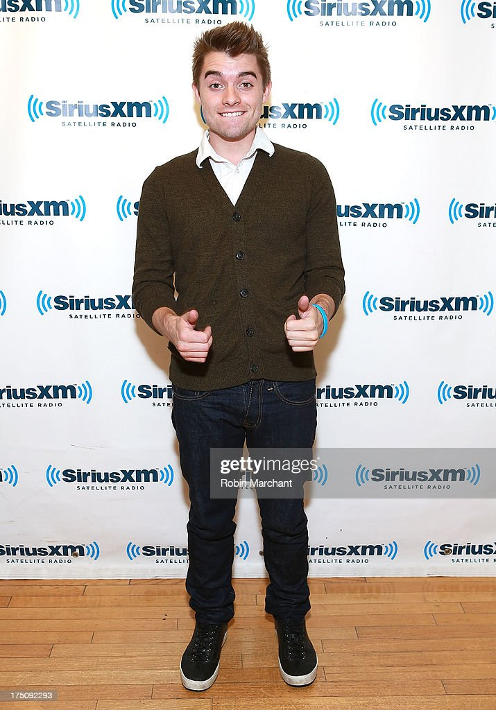Colton Rudloff of Midnight Red visits at SiriusXM Studios on July 31, 2013 in New York City.