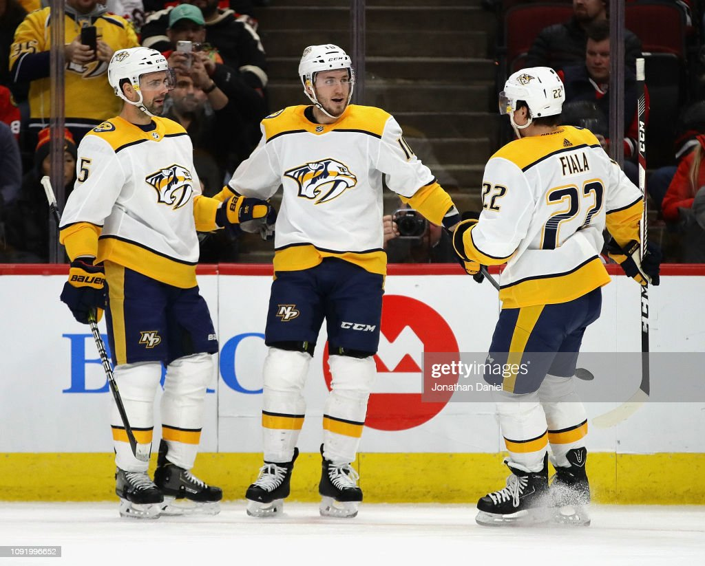 Nashville Predators v Chicago Blackhawks : News Photo