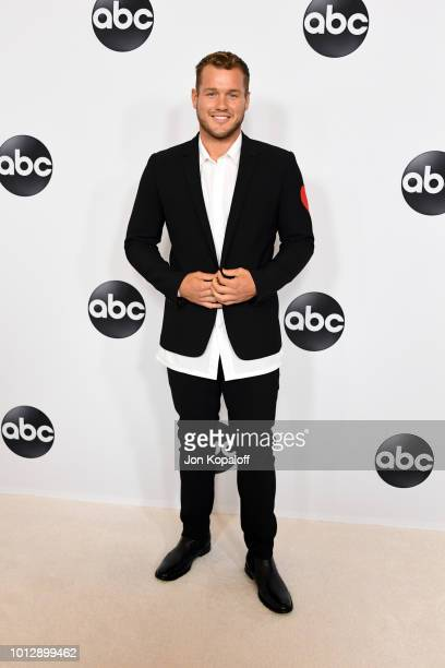 Colton Underwood attends the Disney ABC Television TCA Summer Press Tour at The Beverly Hilton Hotel on August 7 2018 in Beverly Hills California