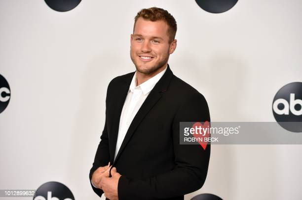 Colton Underwood from Bachelor in Paradise attends the Disney ABC Television TCA Summer Press Tour August 7 2018 at the Beverly Hilton Hotel in...
