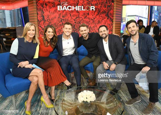 Colton Underwood of The Bachelor is a guest on Good Morning America Tuesday Feb 19 airing on the Walt Disney Television via Getty Images Television...