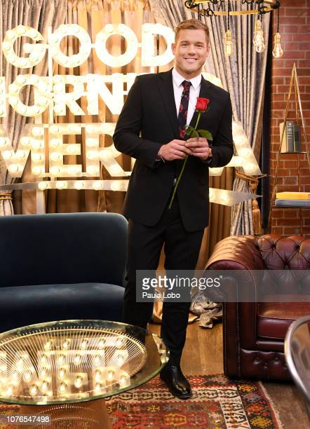 AMERICA Colton Underwood the star of the 23rd season of Walt Disney Television via Getty Images's hit romance reality series The Bachelor is a guest...