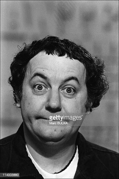 Coluche and Roland Magdane on Antenne 2 In France In March, 1980.