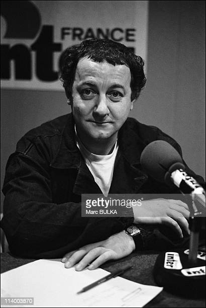 Coluche, Presidential Candidature In France On November 18, 1980.