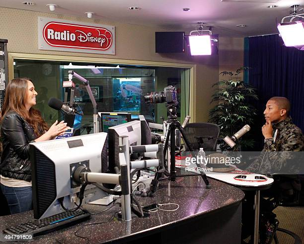 DISNEY Columbia Records' recording artist Pharrell Williams stopped by Radio Disney Studios to discuss his hit single 'Happy' and this fall's...