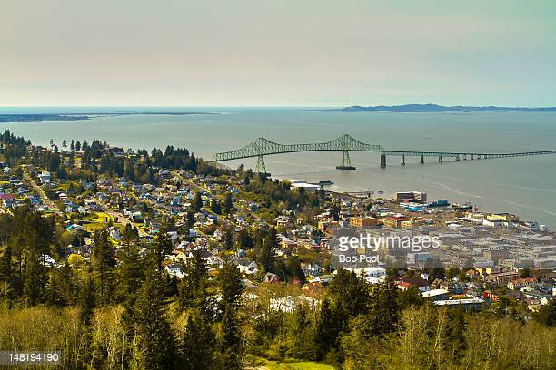 Columbia River Bairge at Astoria, Oregon