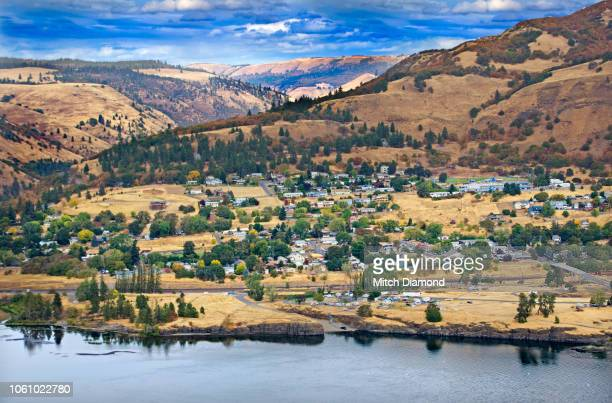columbia river gorge - hood river stock pictures, royalty-free photos & images