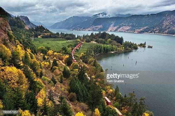 columbia river gorge - tom grubbe stock pictures, royalty-free photos & images