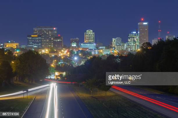 columbia, south carolina downtown skyline - template_talk:south_carolina stock pictures, royalty-free photos & images