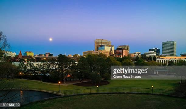 Columbia South Carolina skyline panorama