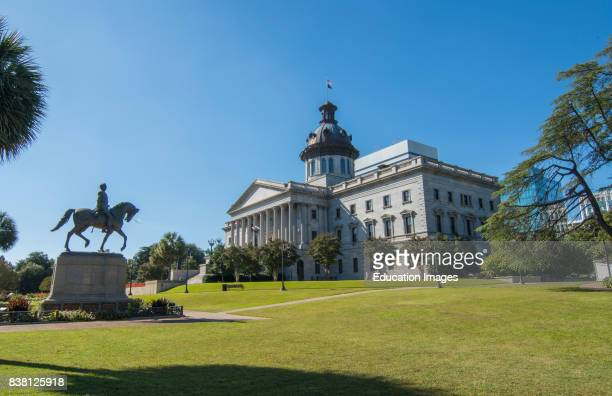 Columbia South Carolina State Capital downtown South Carolina State House 1855.
