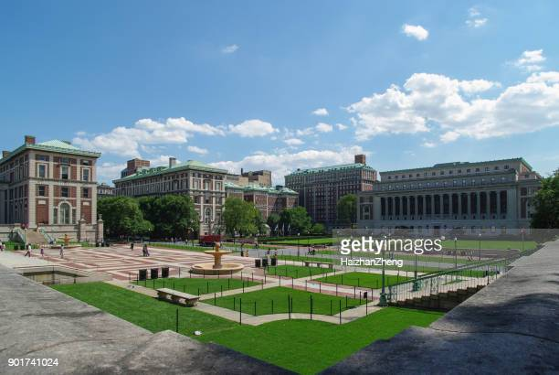 columbia university campus - columbia university stock pictures, royalty-free photos & images