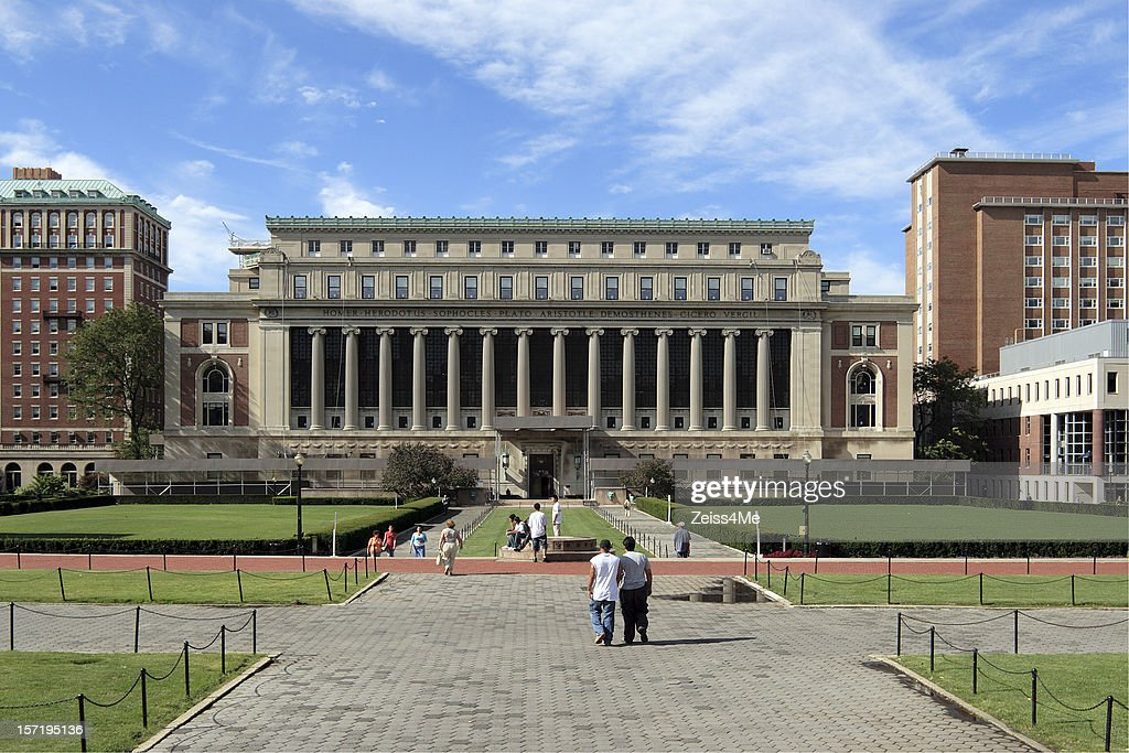 Columbia University - College Walk : Stock Photo