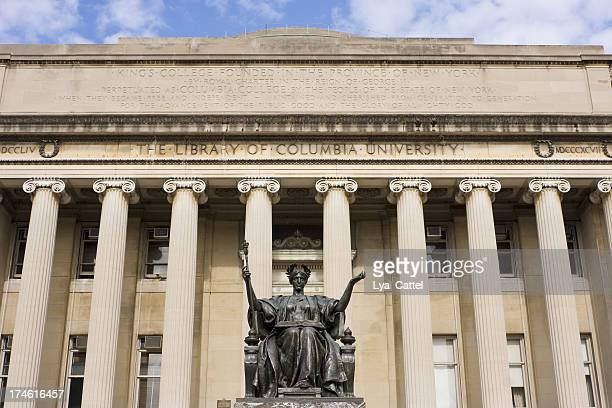 columbia university new york # 1 - ivy league university stock photos and pictures
