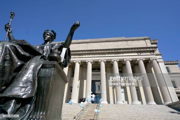 columbia university - ivy league university stock pictures, royalty-free photos & images