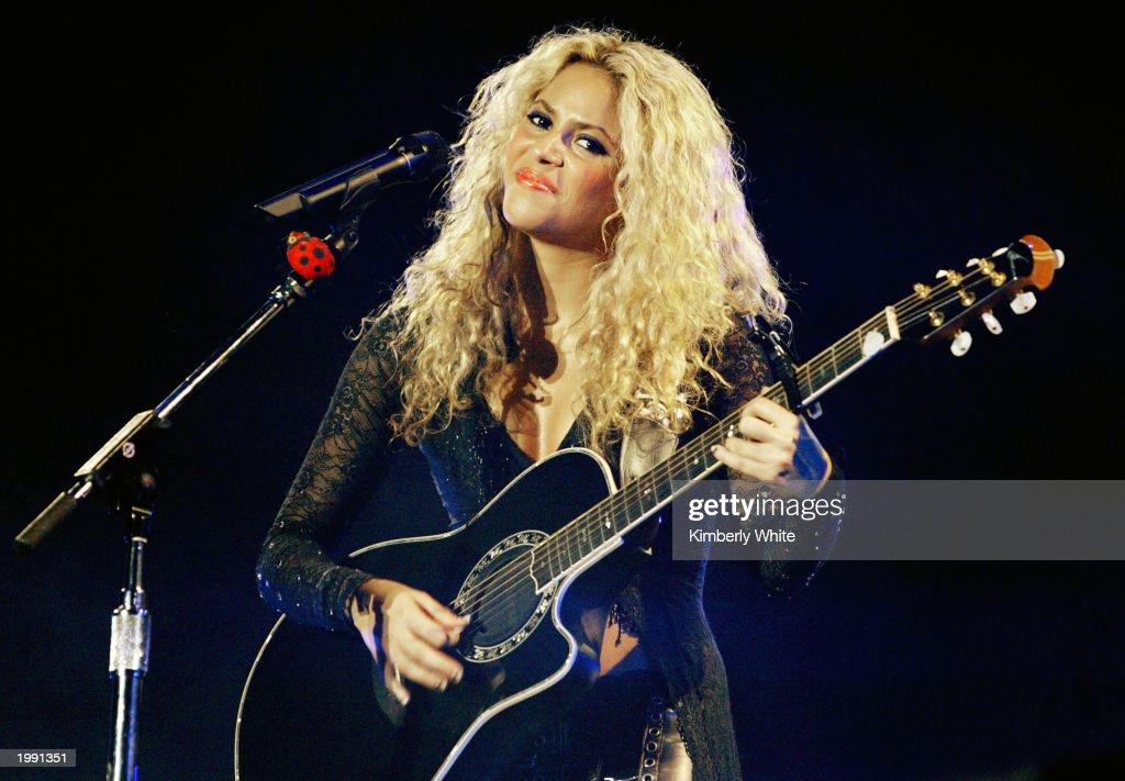 Shakira Performs Concert In Venezuela
