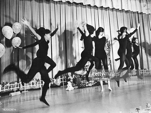 MAR 29 1967 APR 5 1967 Columbine Has MotherDaughter Night Students dance The Creation by James Weldon Johnson for mother daughter night recently at...