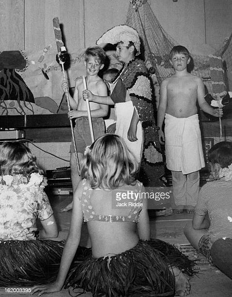 MAY 2 1968 MAY 4 1968 MAY 8 1968 Columbine School Goes Hawaiian They couldn't take the children to Hawaii so they brought Hawaii to the children at...