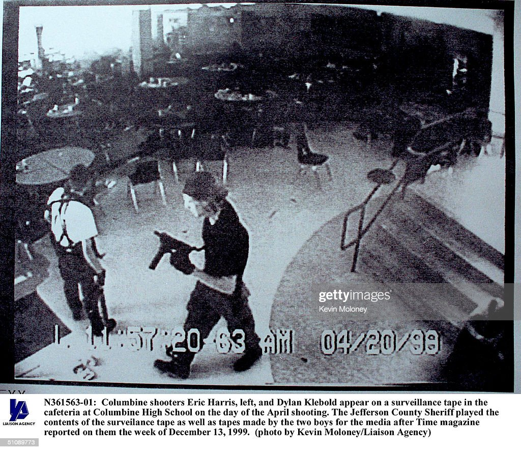 Columbine Shooters Eric Harris, Left, And Dylan Klebold