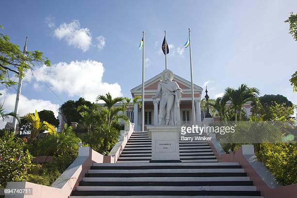 Columbus at Government House, Nassau