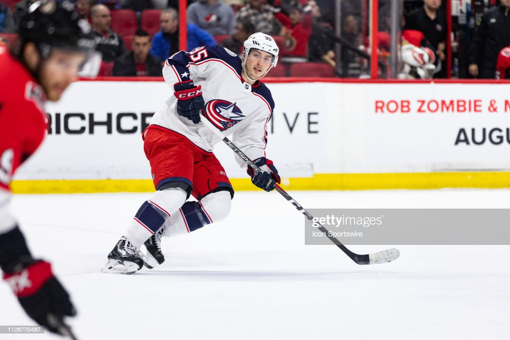 NHL: FEB 22 Blue Jackets at Senators : News Photo