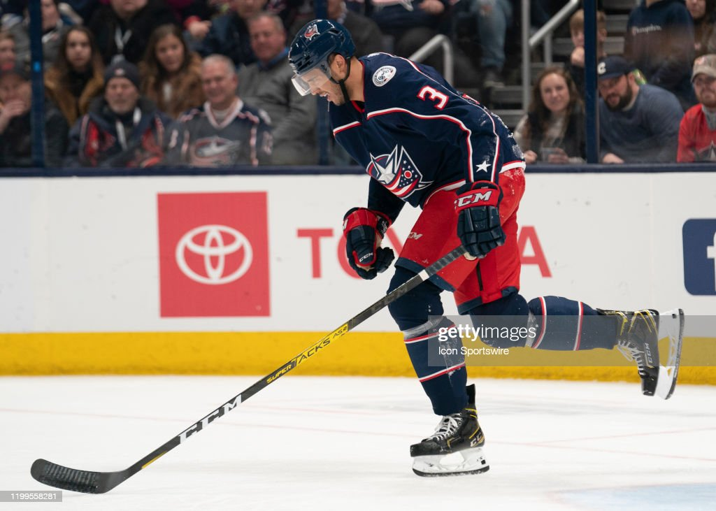 NHL: FEB 08 Avalanche at Blue Jackets : News Photo