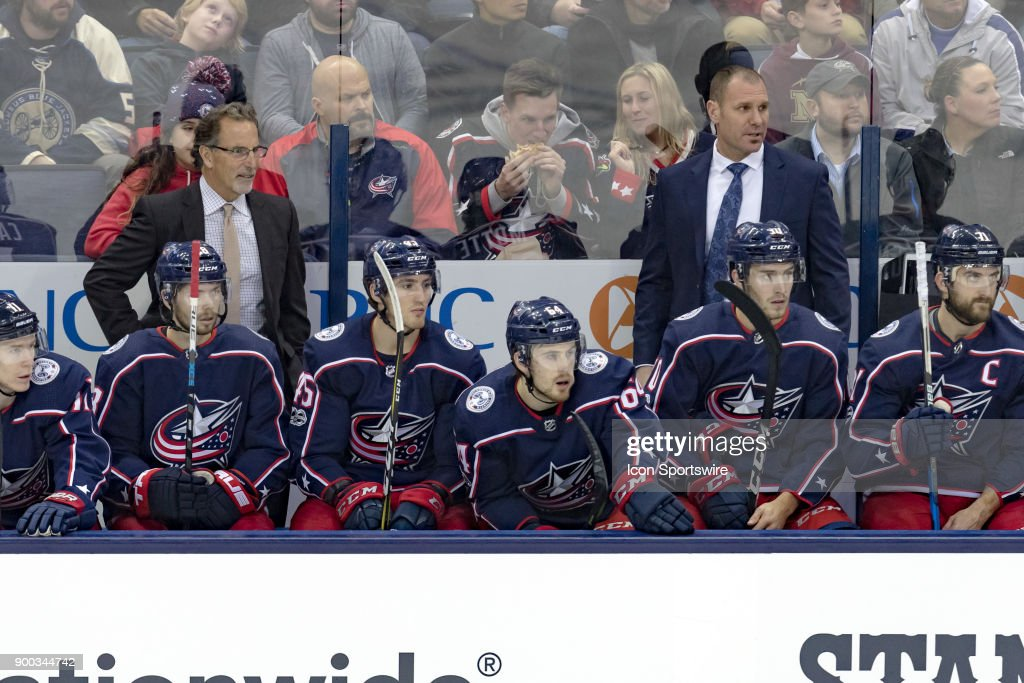 NHL: DEC 05 Devils at Blue Jackets : News Photo