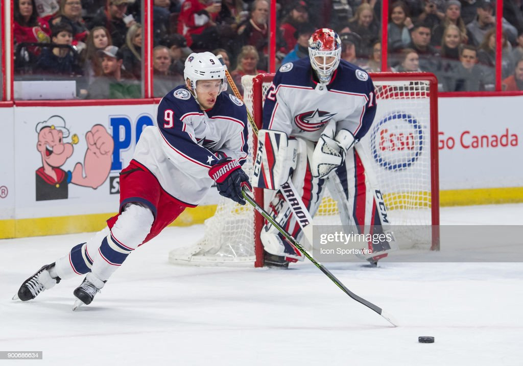 NHL: DEC 29 Blue Jackets at Senators : News Photo