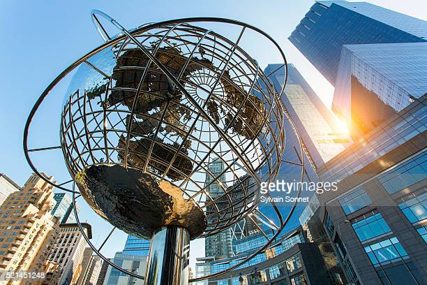 columbus circle, time warner center, new york city - flushing queens stock pictures, royalty-free photos & images