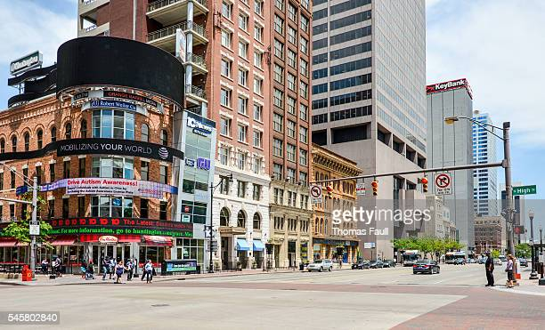 columbus city center - columbus ohio stock pictures, royalty-free photos & images