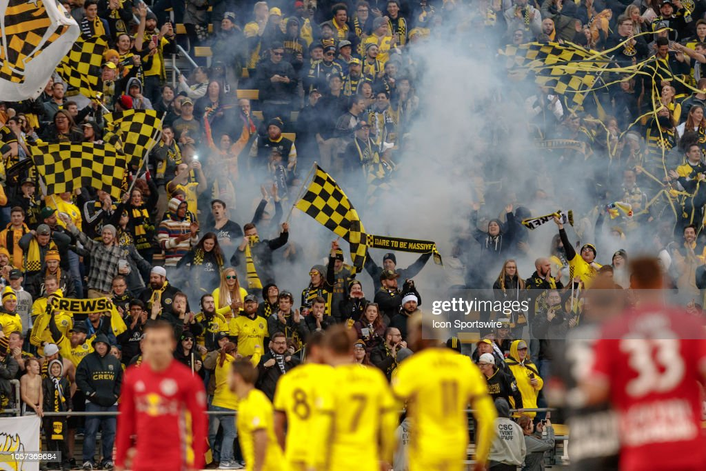 SOCCER: NOV 04 MLS Eastern Conference Semifinals - NY Red Bulls at Columbus Crew SC : News Photo